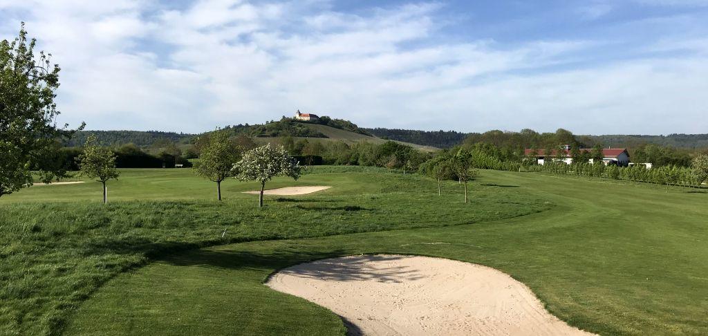 Fruehling Golfplatz Cleebronn